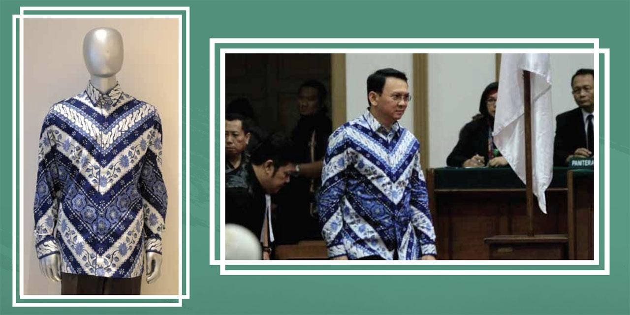 Lelang Baju Batik BTP